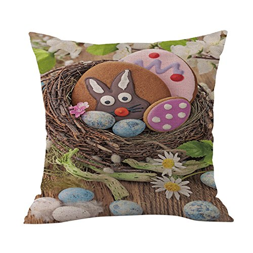 Cartoon Printed Cotton Pillow Covers,FimKaul Sofa Bed Car Th