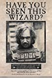 Trends International The Wizarding World: Harry Potter-Sirius Black Wanted Wall Poster, 24.25' x 35.75', Multicolor