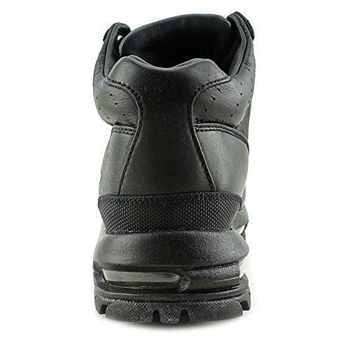 NIKE Kids Air Max Goadome (GS) Black/Black/Metallic Silver Boot 7Y - Image 2