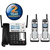 AT&T SB67138 + (1) SB67108 3 Handset Corded / Cordless Phone Bundle (4 Line)