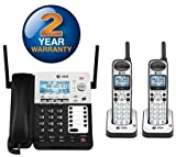 4 phone package - AT&T SB67138 + (1) SB67108 3 Handset Corded / Cordless Phone Bundle (4 Line)