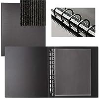 START PREMIUM 11x14 multi ring binder w/10 Polyester Sheet Protectors by PRAT Paris - 11x14
