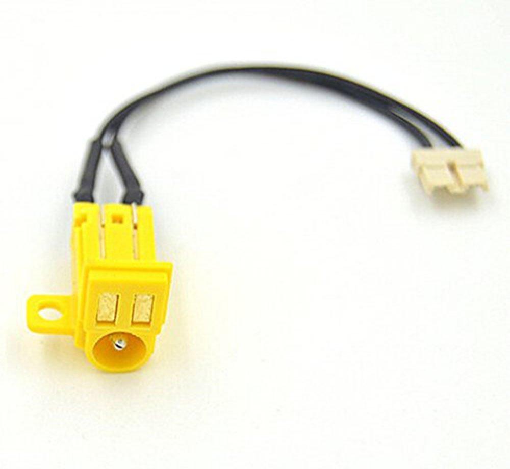 De repuesto amarillo DC conector de enchufe Puerto De ...