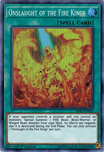 Yu-Gi-Oh! Singles - Onslaught of The Fire Kings - HISU-EN055 - Super Rare - 1st Edition - Hidden Summoners ()