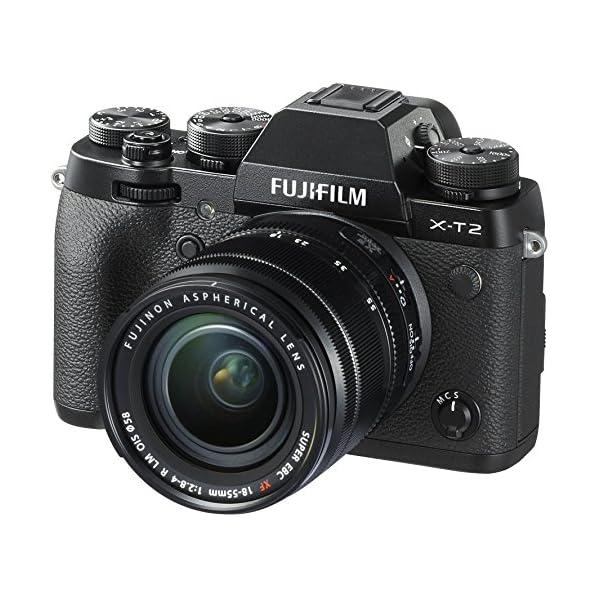 51cJqok6VrL. SS600  - Fujifilm X-T2 Mirrorless Digital Camera with 18-55mm F2.8-4.0 R LM OIS Lens