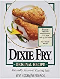 Dixie Fry Original Recipe Naturally Seasoned Coating Mix, 1 Box (10 oz)