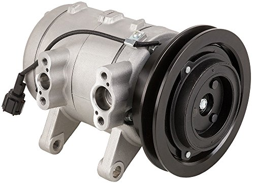 Brand New Premium Quality AC Compressor & A/C Clutch For Frontier & Xterra - BuyAutoParts 60-01420NA - A/c Nissan Frontier Compressor