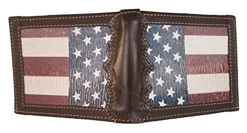 United a Distressed fold Bi States Mason Flag Wallet Texas background with Custom CRq8gg