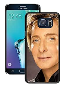 BarryManilowFaceEyesSuitShirt Black Special Custom Picture Design Samsung Galaxy Note 5 Edge Phone Case