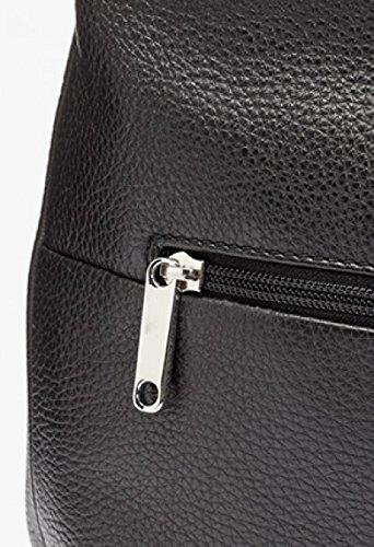 BREE Faro 3 | große Schultertragetasche | Leder Cross Shoulder Bag | black black GfIWoX