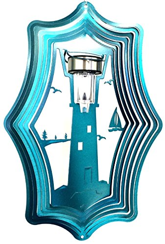 Lighthouse Solar Light Gauge in Florida - 1
