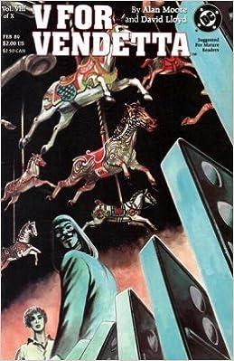Amazon Com V For Vendetta 8 David Lloyd Alan Moore Books
