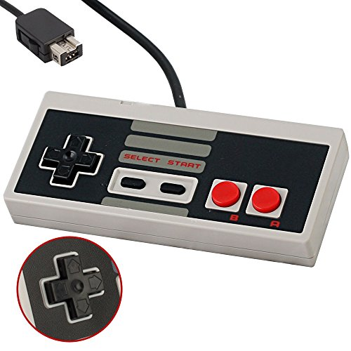 UNM Controller for NES Classic Edition Best Wired Game Controller For Nintendo Gaming System With 6ft(1.8m) - Game Best Controller Video