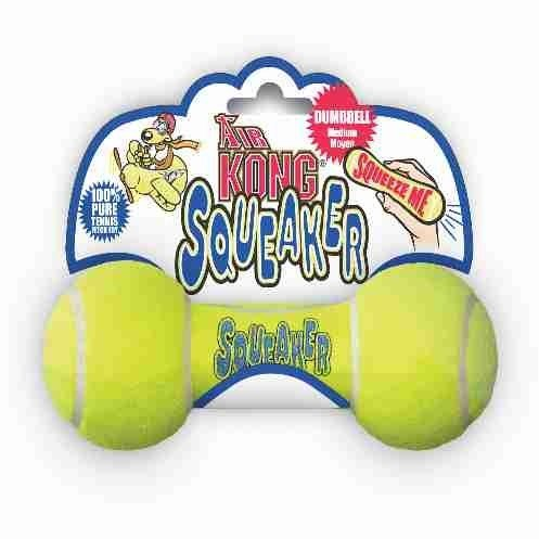 Air Squeaker Dumbell