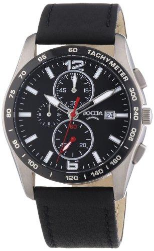 Boccia Men's Quartz Watch 3767-01 with Metal Strap