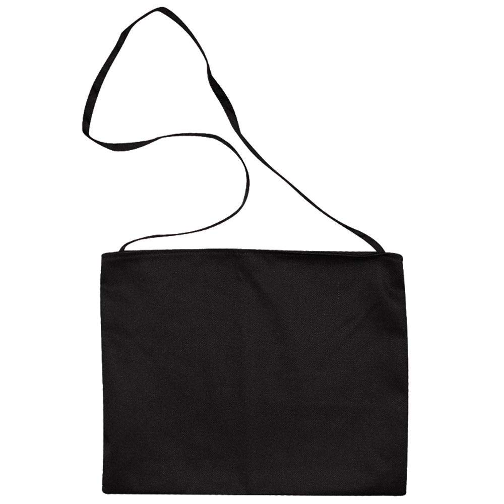 Cycling Musette Feed Bag Plain Black