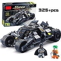 FunBlast Decool 7105 Superheros Batmobile Car, Set of 325 Pcs, Tumbler Building Block Brick Educational DIY Toys for Kids