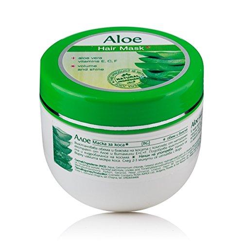 Masque capillaire volume et brillance, Aloe Vera. Rosa Impex