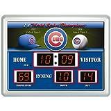 Team Sports America MLB Chicago Cubs Scoreboard