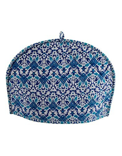 Tea Cosy kitchen accessories Blue Tea Cozy kettle cover Tea Pot kitchen decor By Ekavya
