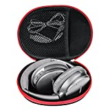Headphone Case DV Case New Bee Travel Carrying Case High-end EVA Portable Protective Multipurpose Travel Holder Zipper Enclosure Storage Case for Bose QC 35, GoPro Hero DV ,Shaver -Black (Large)