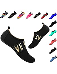 Water Shoes Women's Men's Outdoor Beach Swimming Aqua Socks Quick-Dry Barefoot Shoes for Surfing Yoga Pool Exercise