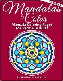 Amazon 4 Mandalas To Color