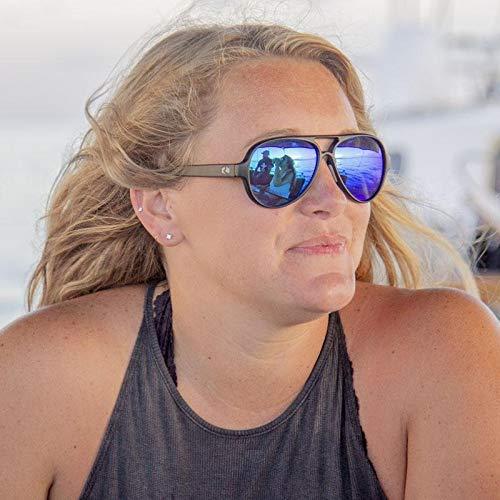 c140d45052645 Amazon.com  Rheos Palmettos Aviator Floating Polarized Sunglasses ...