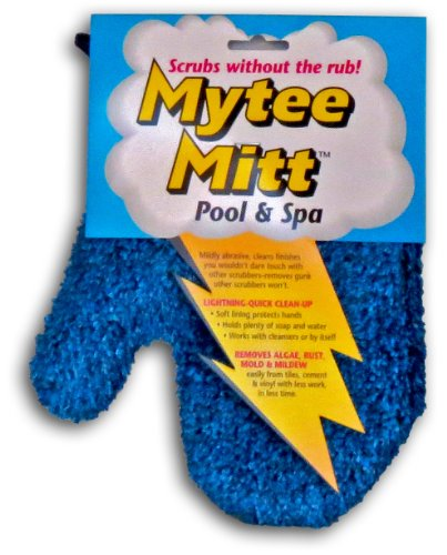 (Gladon MM24 Mytee Pool and Spa Cleaning Mitt)