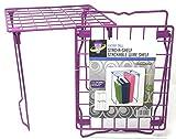 Locker Planet Purple - 12 inch Extra Tall Stackable Wire Shelf