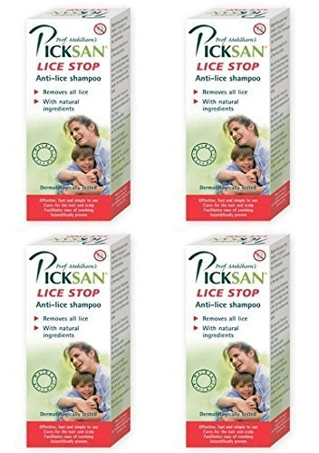 Picksan Lice Stop Shampoo Pack Of 4