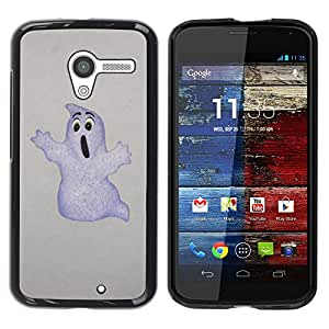 Stuss Case / Funda Carcasa protectora - Ghost White Drawing Art Childrens Movie Cartoon - Motorola Moto X 1 1st GEN I XT1058 XT1053 XT1052 XT1056 XT1060 XT1055