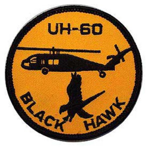 Helicopter Patch - U.S. Army UH-60 Black Hawk Helicopter Patch 3