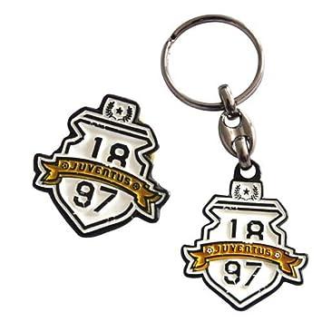 Broche Y Llavero Vintage Juventus: Amazon.es: Deportes y ...