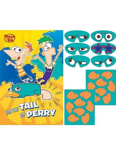 Phineas and Ferb Party Game (Each)