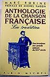 Anthologie de la chanson française