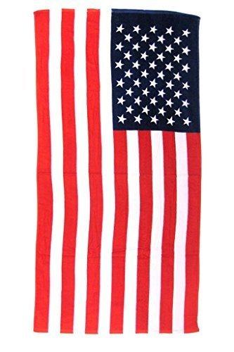 Licensed United States of America Flag Bath Beach Towel 40