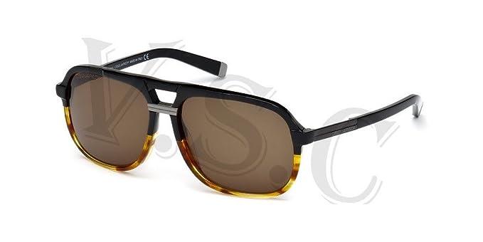 Amazon.com: Dsquared anteojos de sol DQ0071 DQ 71 auténtico ...