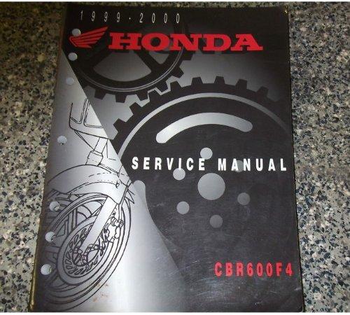 1999 2000 Honda CBR600F4 Service Shop Repair Manual ebook