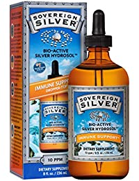 Natural Immunogenics Dropper-Top, 8 Ounce Sovereign Silver