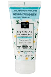 Earth Therapeutics Tea Tree Oil Foot Balm ~6 Oz