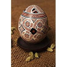 Pysanka Painted With Aniline Colors