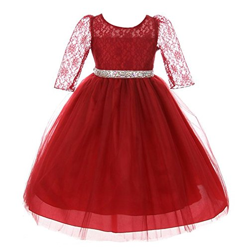 Jewel Trim Dress - 1
