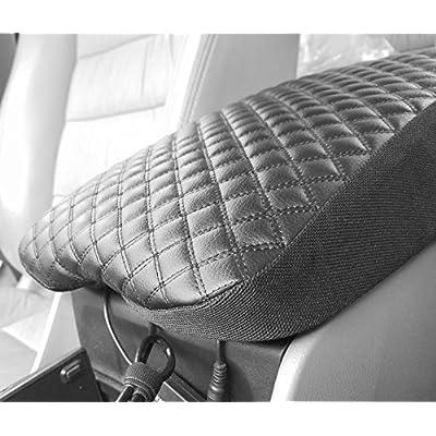 Fit for Chrysler 300 300C 2011-2020 Center Console Lid Armrest Cover Decor Protector: Automotive