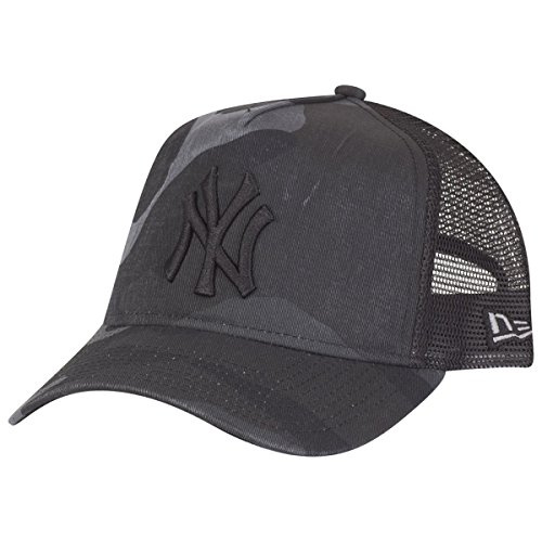 New Era Washed Camo 9Forty AF Trucker Cap One Size New York (Yankees Camo)