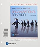 img - for Organizational Behavior, Student Value Edition (18th Edition) book / textbook / text book