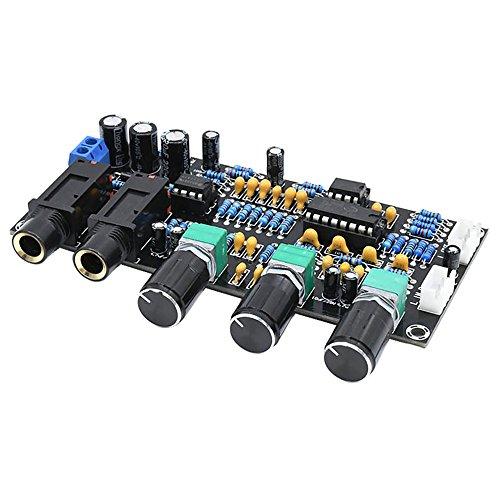 AOSHIKE PT2399 Microphone Amplifier Board Dual Channel K Song Amplificador 12-24V Karaoke Reverberation Board