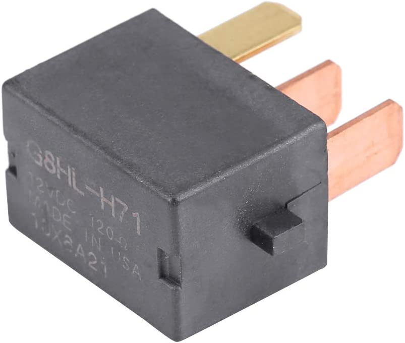 Relais de compresseur installation facile caract/éristiques de stabilit/é du relais de fusible en plastique noir de premi/ère qualit/é