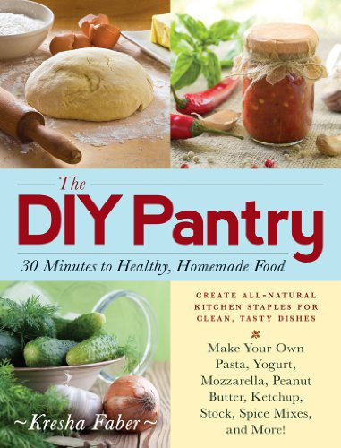The DIY Pantry: 30 Minutes to Healthy, Homemade Food by Kresha Faber