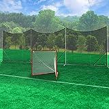 Predator Lacrosse Backstop Barrier Freestanding